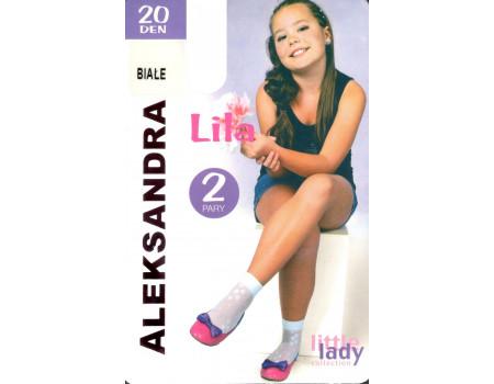 Капроновые детские носки Aleksandra Lila Арт.: 9892