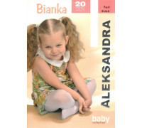 Детские узорчатые колготки Aleksandra Bianka Арт.: 9007