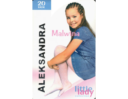Детские узорчатые колготки Aleksandra Malwina Арт.: 9878