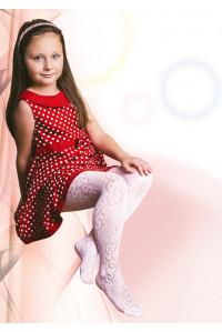 Детские узорчатые колготки Aleksandra Jagoda Арт.: 9816