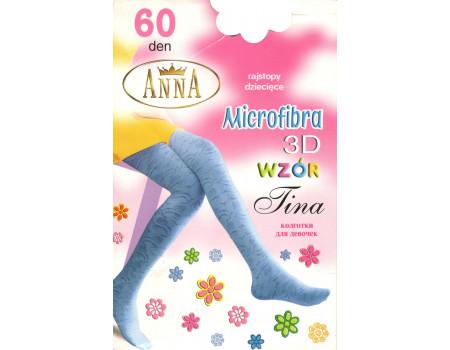 Детские колготы Anna Tina 60 Den (Microfibra 3D) Арт.: 3513