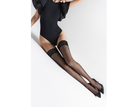 Чулки женские MARILYN Coco W14