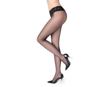 Колготки с силиконовым поясом MARILYN Erotic 15 vita bassa