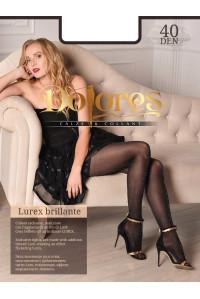 Колготки с люрексом DOLORES Lurex brillante 40 turchese