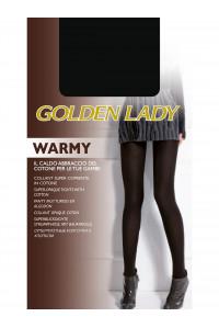 Колготки тёплые с хлопком GOLDEN LADY Warmy