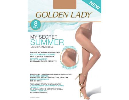 Бесшовные колготки GOLDEN LADY My Secret Summer 8