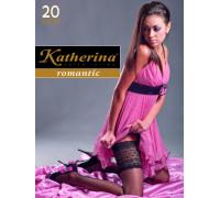 Чулки Katherina Широкая резинка 20 den