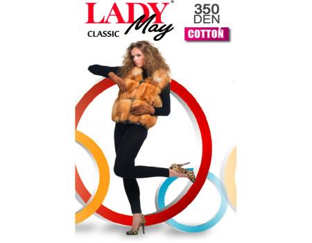 Леггинсы женские LADY MAY Cotton 350 leggins