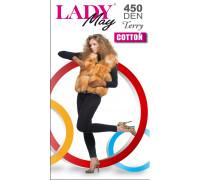Леггинсы женские махровые LADY MAY Cotton Terry 450 leggins