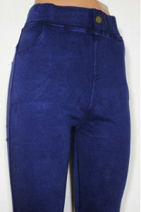 Женские джинсовые лосины с мелким начесом ЛАСТОЧКА Арт.: А915-3
