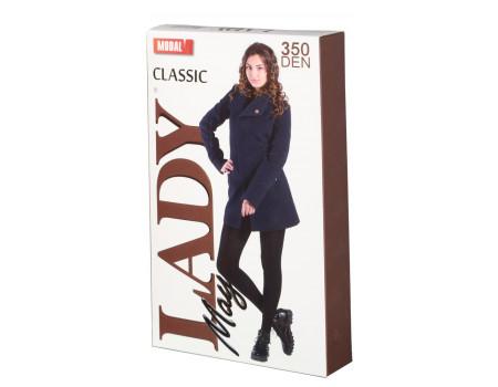 Колготки женские модал LADY MAY Classic 350 modal