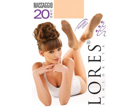 Носки женские с массажной стопой LORES Massaggio 20
