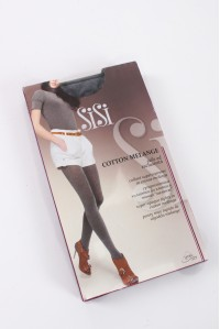 Тёплые колготки SISI Cotton Melange