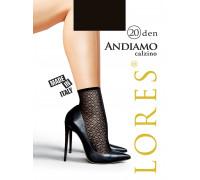 Носки женские с узором LORES Andiamo 20 calzino