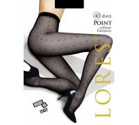 Колготки с узором в точку LORES Point 40