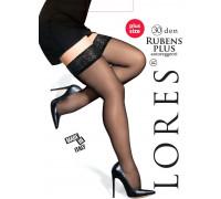 Чулки женские LORES Rubens Plus 30