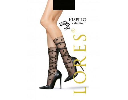 Гольфы женские с узором LORES Pisello calzetto