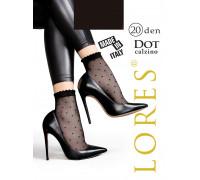 Носки женские с узором LORES Dot 20 calzino