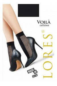 Носки женские с сеточкой LORES VOILA calzino