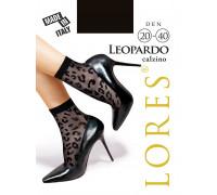 Носки женские с узором LORES Leopardo calzino 20-40