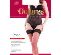Чулки сетчатые DOLORES Rosa rete