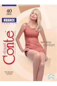 Колготки с шортиками CONTE Nuance 40