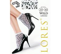 Носки женские с узором LORES Wild calzino 20-40