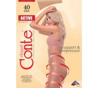 Колготки женские поддерживающие CONTE Active 40