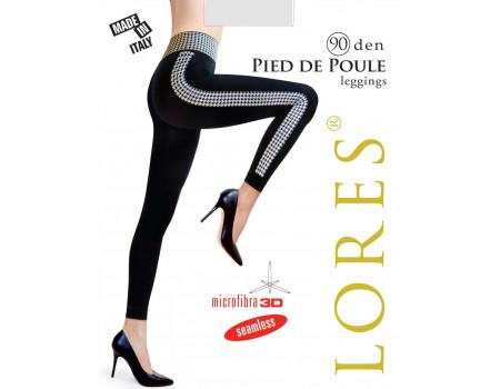 Бесшовные леггинсы LORES Pied de Poule 90