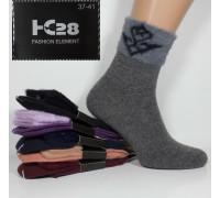 Шерстяные женские носки с ангорой ФЕННА высокие Арт.: 1507