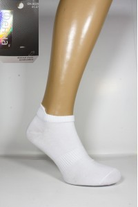 Стрейчевые мужские носки Фенна короткие Арт.: GH-A028 / Белые / Упаковка 10 пар /