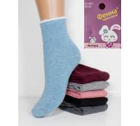 Шерстяные детские носки из ангоры ФЕННА высокие Арт.: ZC601-11