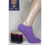 Женские махровые носки из ангоры ШУГУАН ультракороткие Арт.: B2085