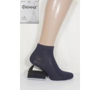 Стрейчевые мужские носки ФЕННА короткие Арт.: ZA203-2 / Ассорти / Упаковка 12 пар /