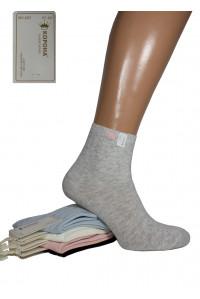 Стрейчевые женские носки КОРОНА средней высоты Арт.: BY-257-5 / THP /