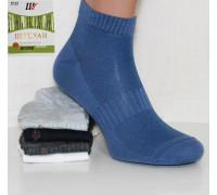 Стрейчевые мужские носки в сеточку ШУГУАН средней высоты Арт.: 9843