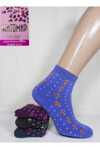 Махровые женские носки ЖИТОМИР Стиль Люкс средней длины Арт.: 8541М / Упаковка 12 пар /