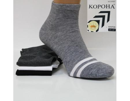 Стрейчевые мужские носки КОРОНА средней высоты Арт.: A1623