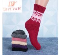 Шерстяные женские носки из ангоры ШУГУАН Арт.: B2046