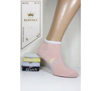 Стрейчевые женские носки КОРОНА укороченные Арт.: BY218-1 / Never /