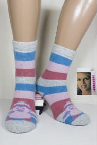 Шерстяные махровые женские носки KARDESLER высокие Арт.: 8001 / 0268 / Упаковка 12 пар /