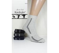 Стрейчевые спортивные мужские носки KARDESLER средней длины Арт.: 1303-4 / Athletic / Упаковка 12 пар /