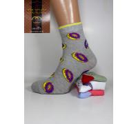 Стрейчевые женские носки GUCCI высокие Арт.: 533396-1 / Донатики /