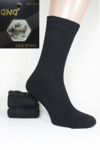 Шерстяные мужские носки GNG Wool Thermo высокие Арт.: 2823 / Упаковка 12 пар /
