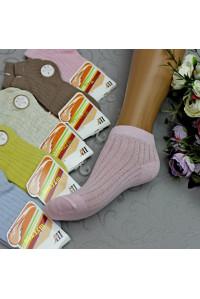 Стрейчевые детские носки в сеточку ШУГУАН укороченные Арт.: C621