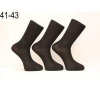 Стрейчевые шелковые мужские носки DILEK высокие Арт.: 03-10003 / Упаковка 12 пар /