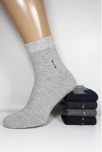 Стрейчевые мужские носки Фенна средней высоты Арт.: GH-A607 / GH-A608 / Упаковка 10 пар /