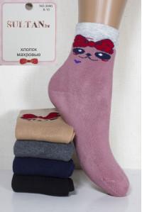 Махровые детские носки SULTAN высокие Арт.: 3590 / Упаковка 10 пар /