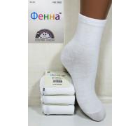 Стрейчевые детские носки ФЕННА средней высоты Арт.: 3052 / Упаковка 12 пар /