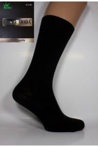 Стрейчевые бамбуковые мужские носки CALZE MODA высокие Арт.: 5638 / Упаковка 12 пар /